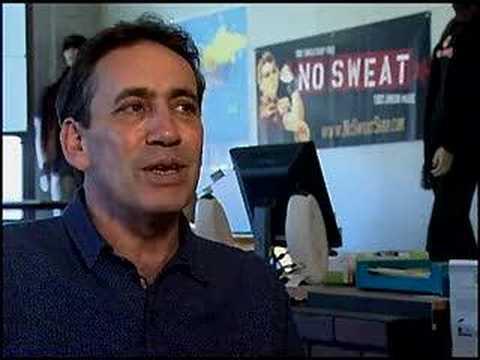 No Sweat Apparel Interview