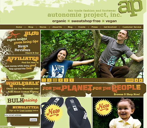 Autonomie Project Inc Fair-Trade Fashion and Footwear