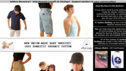 Justice Clothing Company - Sweatshop Free Clothes