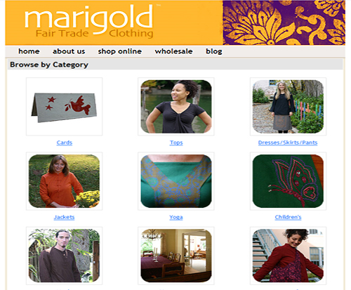 Marigold Fair Trade Clothing