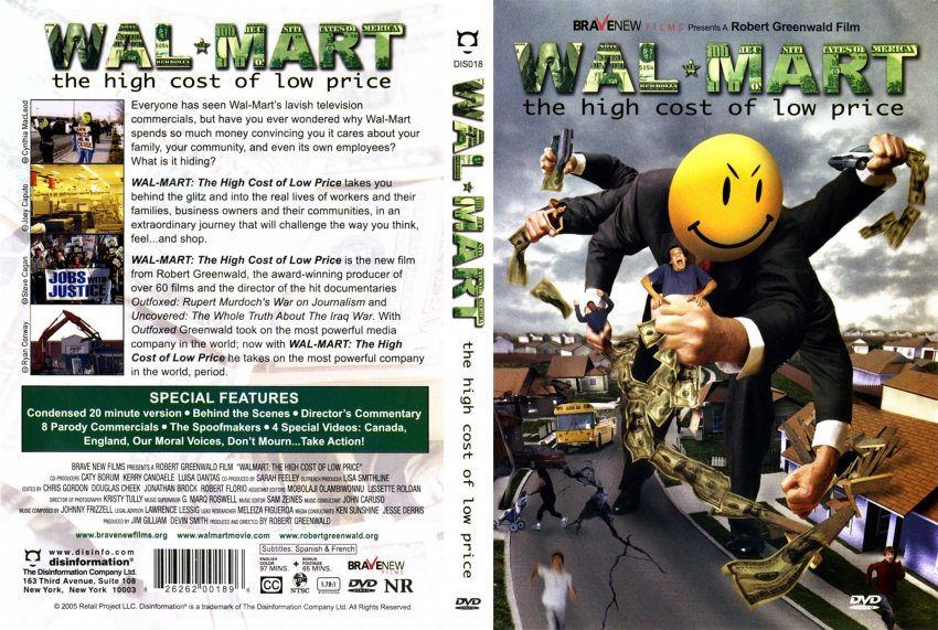 Walmart: The High Cost of Low Price Brave New Films Documentary Full Movie Watch Online