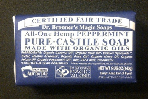 Dr. Bronner's All-In-One Hemp Peppermint Soap