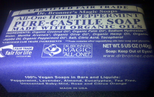Dr. Bronner's Hemp All-In-One Peppermint Soap