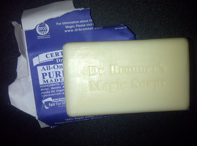 Dr. Bronner's All-One Hemp Soap