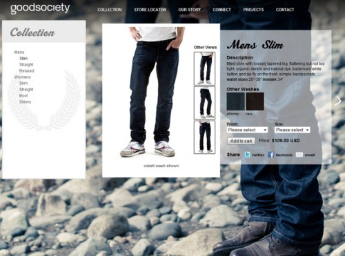Men's jeans from Goodsociety
