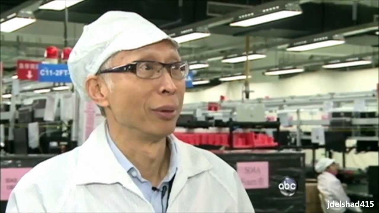 Nightline Exposes Apple's Foxconn Sweatshop Factory in China