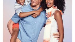 Old Navy Bi-Racial Family Ad