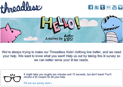 Threadless Asks How Important is Sweatshop-Free?