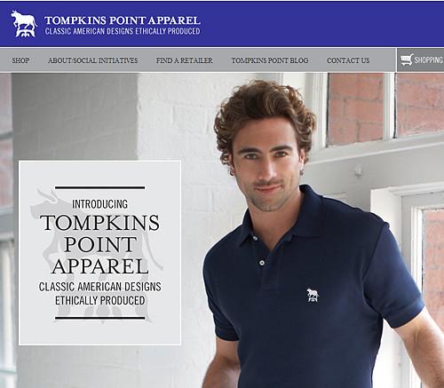Tompkins Point Apparel sweatfree polo shirts