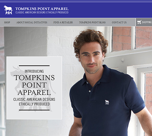 Tompkins Point Apparel sweatfree polo shirts